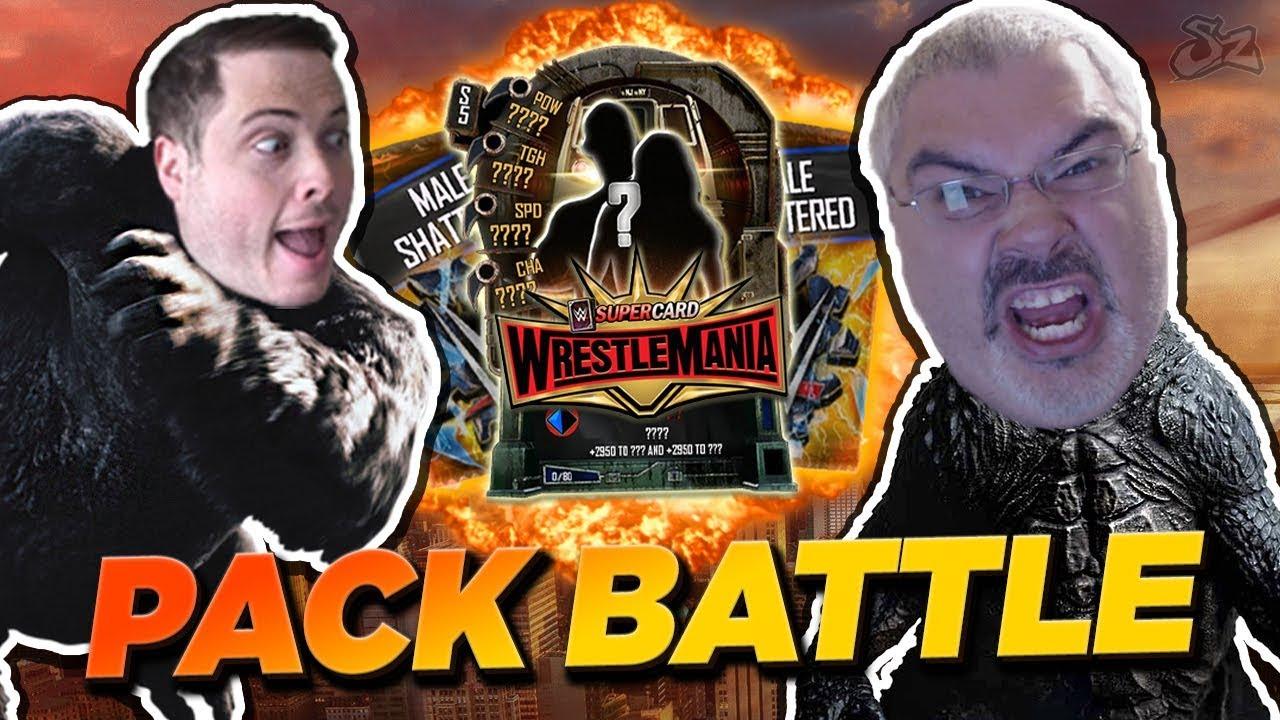 WRESTLEMANIA 35 TIER PACK BATTLE!! | WWE SuperCard S5
