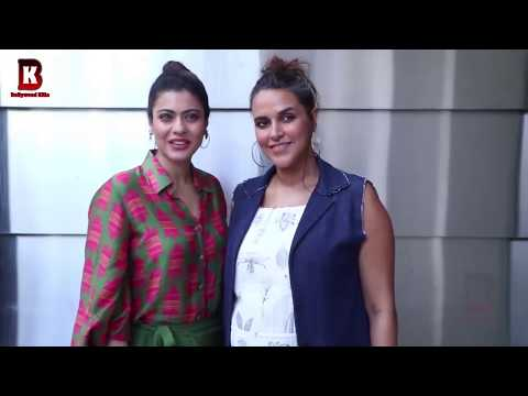 Kajol, Neha Dhupia Arrives At No filter 2018 thumbnail