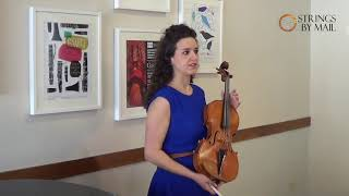 Viola Strings for Warmth - Gut or Pirastro Obligato with Amanda Grimm | Strings By Mail