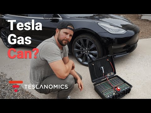 DIY Tesla Gas Can - Will it Work?