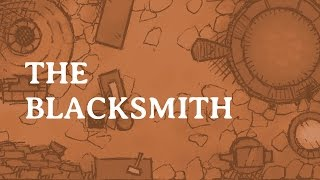 Speed Drawing The Blacksmith set piece