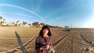 Santa Monica Beach, LA, in 360°