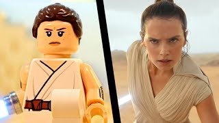 Star Wars: Episode IX Teaser in LEGO Side by Side Comparison (The Rise Of Skywalker)