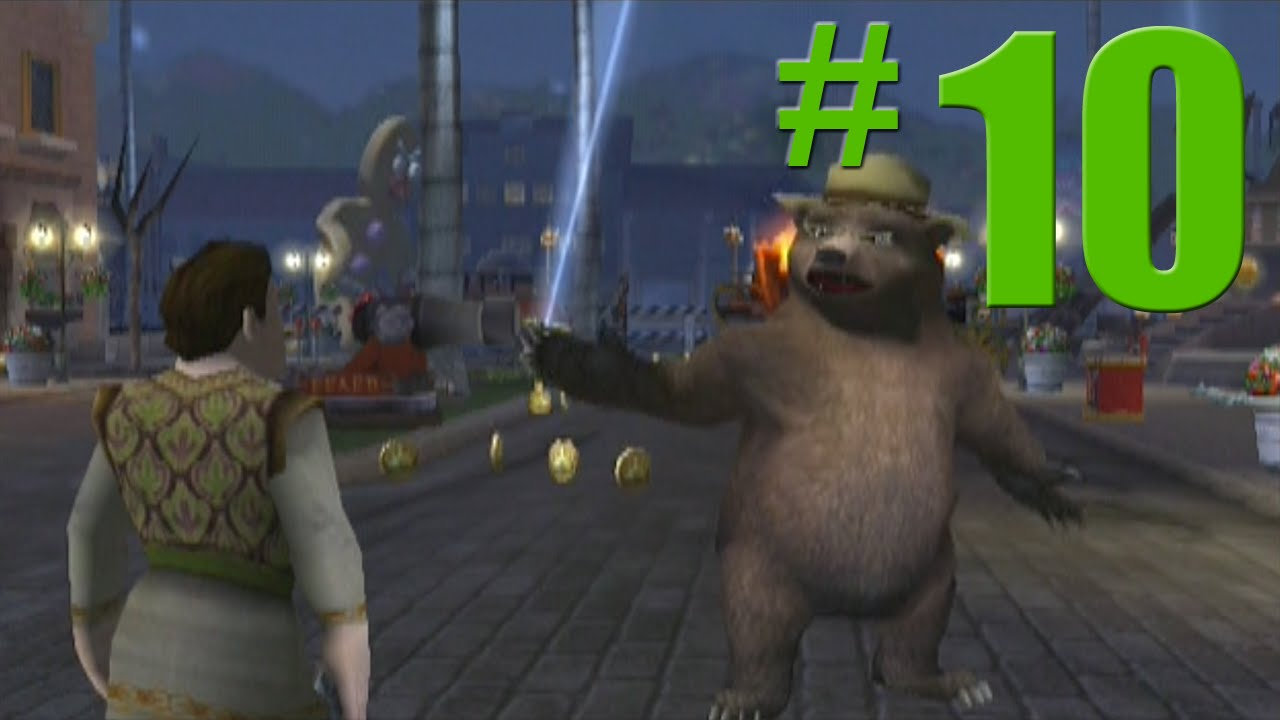 Shrek 2 Game Walkthrough Part 10 Cookie Cookie No Commentary Gameplay Gamecube Xbox Ps2 Youtube