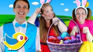 Hippity Hop - Easter Bunny Song for Kids - Counting Easter Eggs