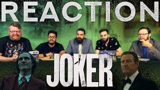 JOKER - Final Trailer REACTION!!