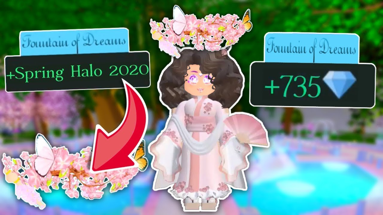How To Always Win The Spring Halo 2020 Or Diamonds Royale High