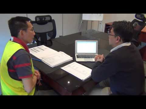 Project 6 Goods Receiving Process Flow