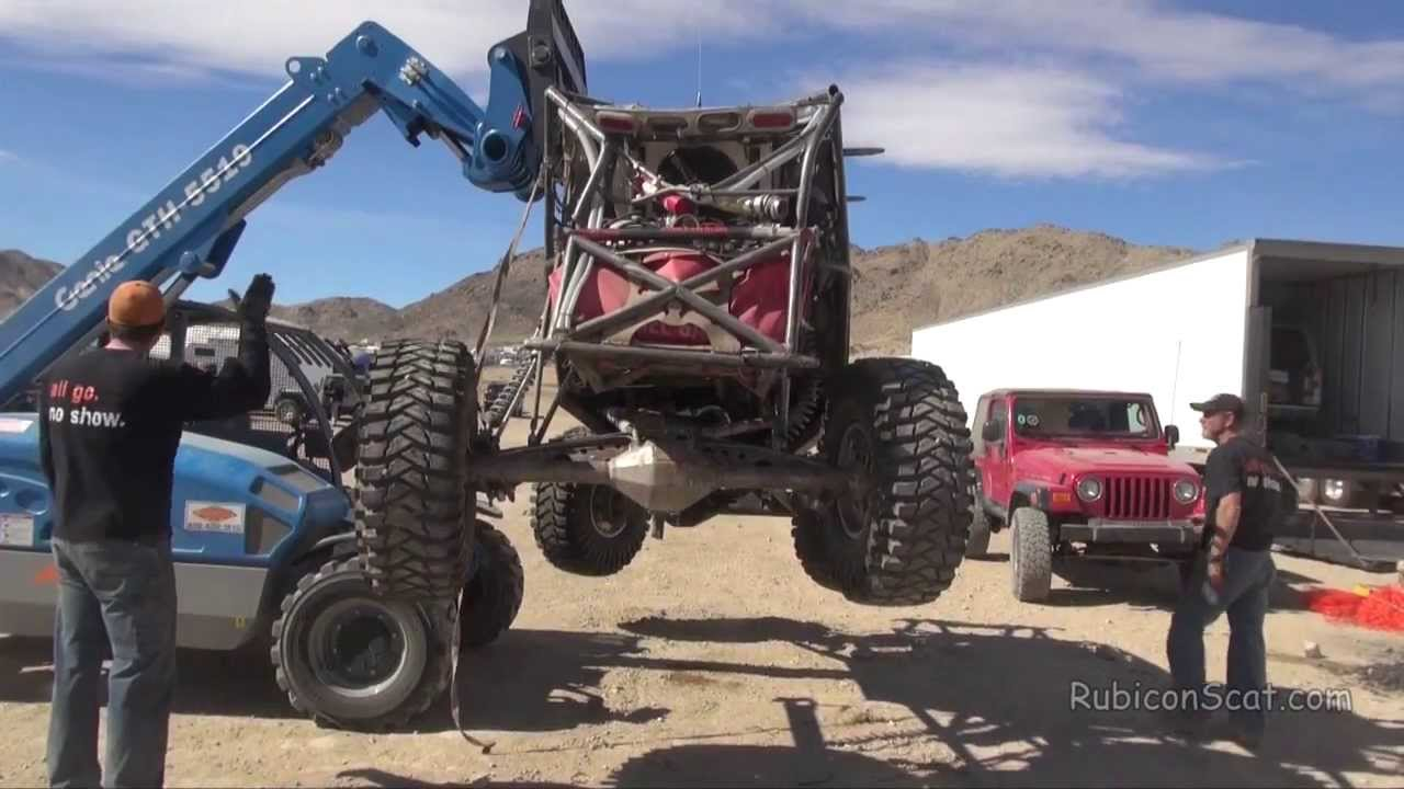 Big Ugly Racing Crashes KOH 2014 and Recovery - YouTube