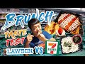 LAWSON vs. 7-ELEVEN Japanese CONVENIENCE STORE Brunch Taste Test