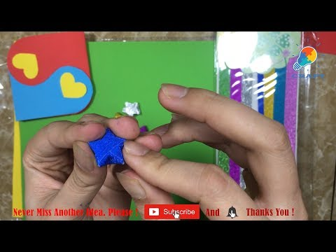 How To Make Lucky Paper Stars - Craft Ideas