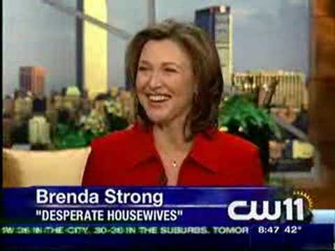 "Brenda Strong of the Hit TV Show "" Desperate Housewives"""