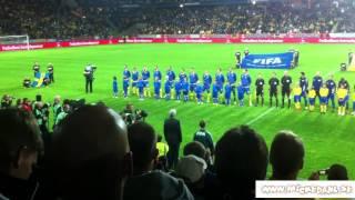 VM-Kval fotboll Sverige-Kazakstan 11 sept 2012