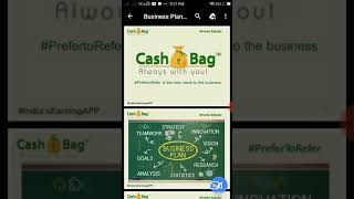 CASH BAG free joining.. Zero investment.. Earn cash 1 Lakh per month.. English and telugu..