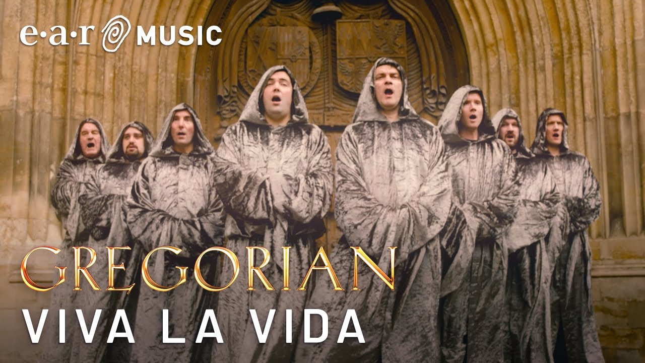 "Gregorian ""Viva La Vida"" (Official Music Video) - Album out November 22nd"