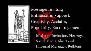 All Tarot Card images are taken from the Pictorial Key to the Tarot...