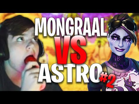 Secret Mongraal 1 VS 1 Atlantis Astro #2 | Fortnite Highlights