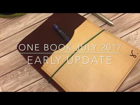 One Book July 2017 Early Update