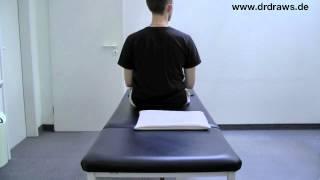 Lagerungsschwindel Übungen: Epley Manöver rechts - Lagerungsschwindel Infopaket (16/17)