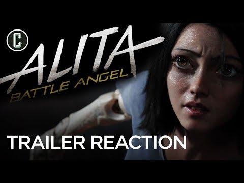 Alita: Battle Angel Trailer Reaction & Review