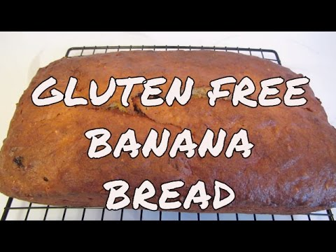 Easy Gluten Free Banana Bread ~ Bob's Red Mill All Purpose Gluten Free Flour