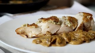 Download Video Chicken with Creamy Mushroom Sauce Recipe MP3 3GP MP4