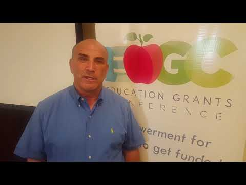 Education Grants Conference Review By Assoc. Superintendent Bob Anderson