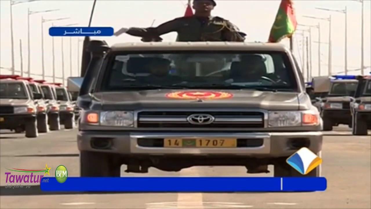 مشاركة طلائع و وحدات الحرس الوطني فعاليات العرض العسكري ذكرى 59 عيد الاستقلال بمدينة اكجوجت