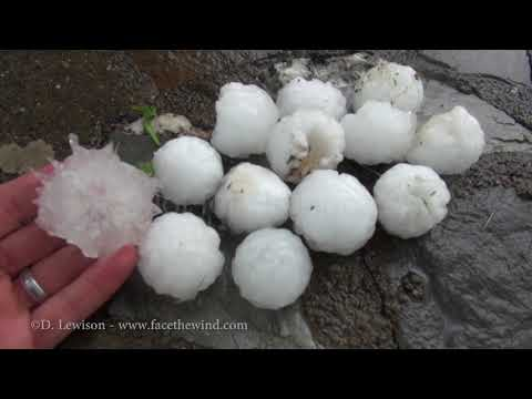 Incredible Hailstorm and Wind Damage in NY/CT
