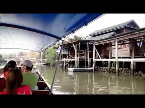 Maeklong Railway Market & Amphawa Floating Market Bangkok 2014