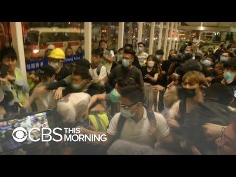 Photos show Chinese troop buildup amid Hong Kong protests
