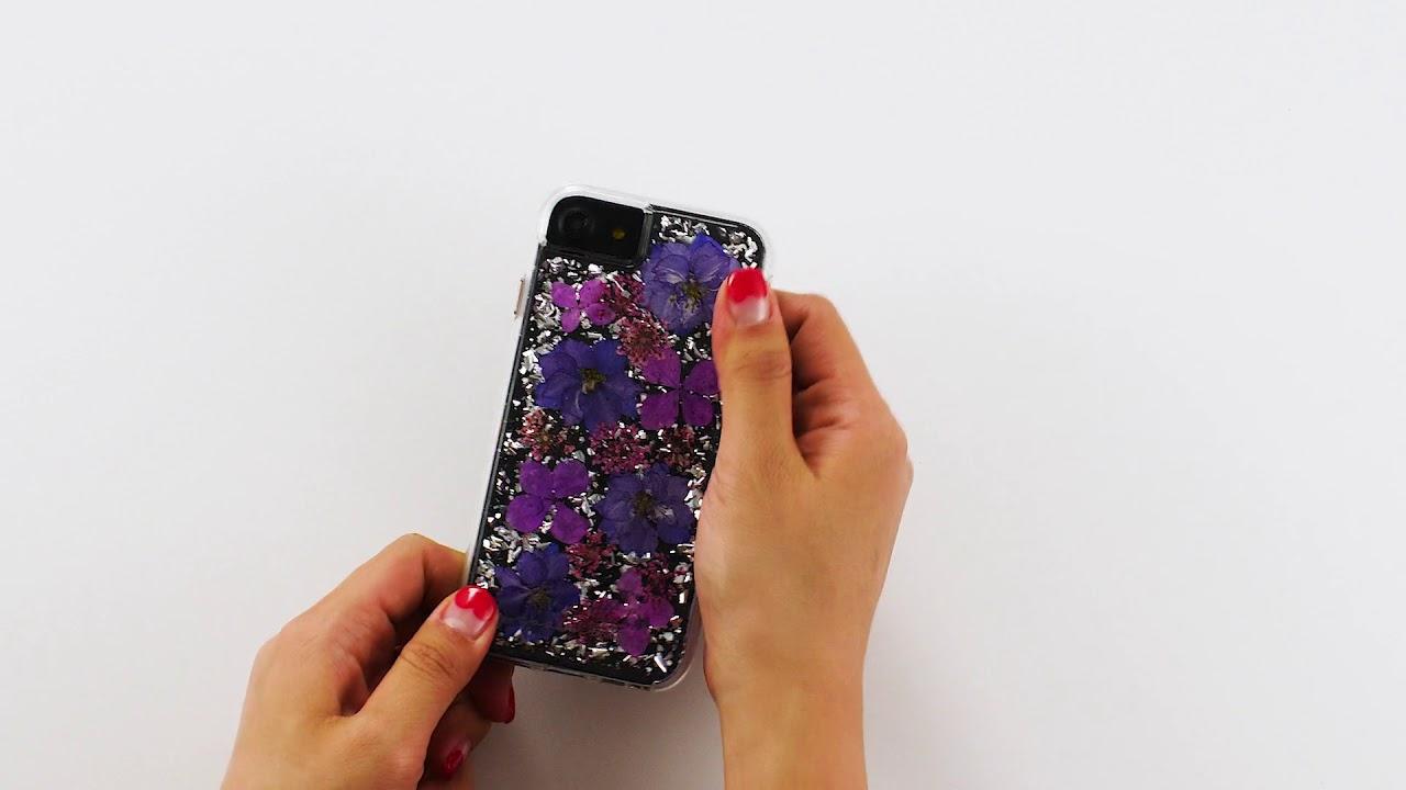 best loved 30f5e 2147c Case Mate - etui / obudowa iPhone 8 Karat Petals Purple