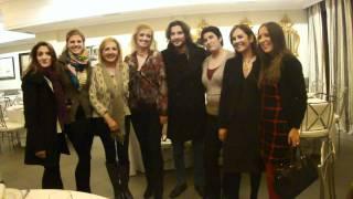 Cadena 100 Segovia (102.1 FM). Manu Carrasco y La Musicalité ( La Floresta) 30/11/2011 (9)