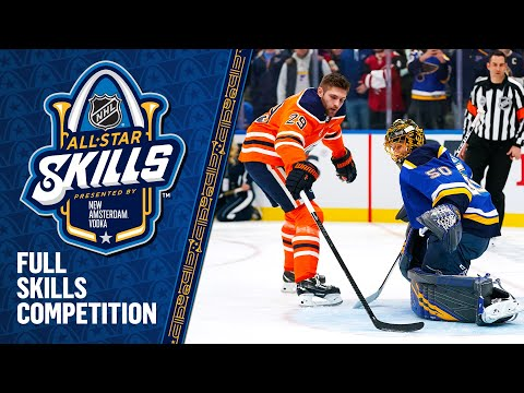 REPLAY: 2020 NHL All-Star Skills presented by New Amsterdam Vodka