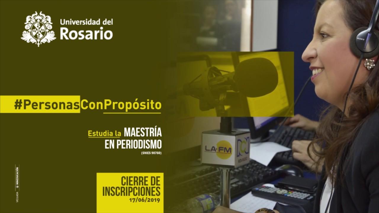 Maestría en Periodismo