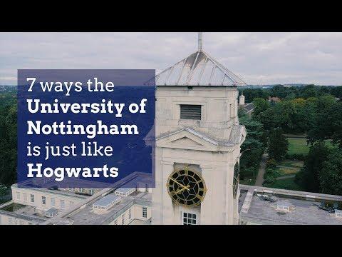 7 ways the University of Nottingham is just like Hogwarts