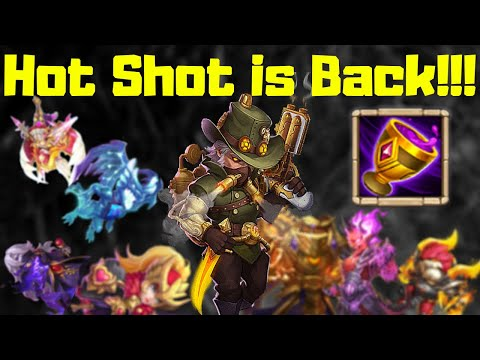 Vampiric Grail | Hot Shot Is Back Baby!!! | Must Watch | Castle Clash