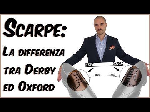 Scarpe: La Differenza Tra Derby Ed Oxford | Che Stile! By Andrea Cimatti