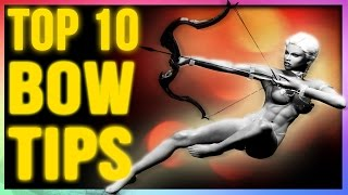 Skyrim Remastered: TOP 10 Archer Build Tactics for Bows (Best Weapons Tips & Tricks To Know)!