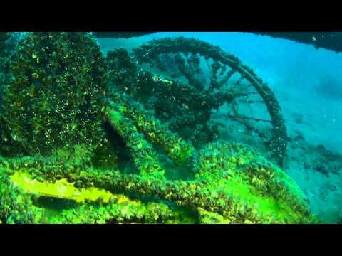 Hotel Baia Azzurra a Torbole, sulla parete delle gallerie proseguono le immersioni a circuito chiuso con il Poseidon MK6