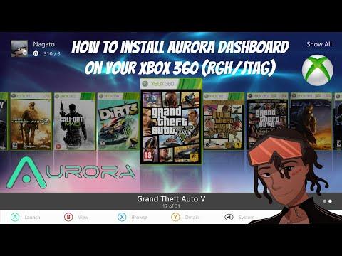 How To Install Aurora 0.7 Dashboard On Your Xbox 360 RGH/JTAG (Episode 6) #RGH #Aurora #JTAG #Xbox