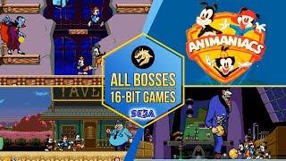 Animaniacs – All Bosses / Озорные анимашки – Все Боссы   Sega 16-bit   Mega Drive/Genesis