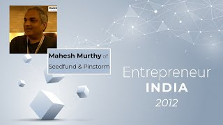 Mahesh Murthy of Seedfund   Pinstorm at