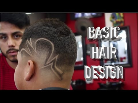 How To Do A Freestyle Hair Design Step By Step Hair Design