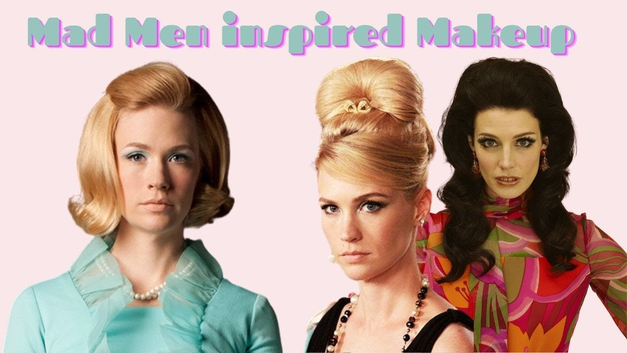 Mad Men Makeup - Your Simple 1960s Inspired Makeup Guide