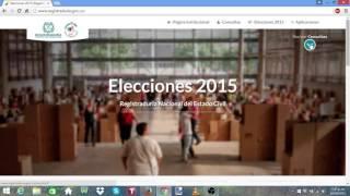 PUESTO VOTACION ELECCIONES 2015