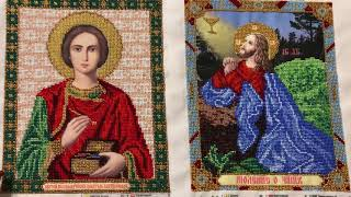 Вышивка бисером: иконы от Арт Соло «Целитель Пантелеймон» и «Моление о чаше»