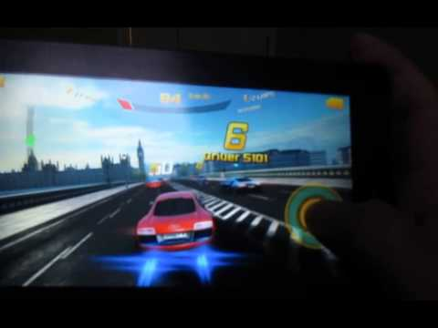 Asphalt 8: Airborne Gameplay on Huawei Mediapad 7 Vogue