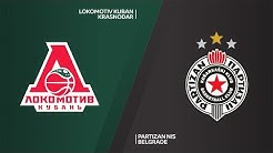 Lokomotiv Kuban Krasnodar - Partizan NIS Belgrade Highlights | 7DAYS EuroCup, RS Round 9