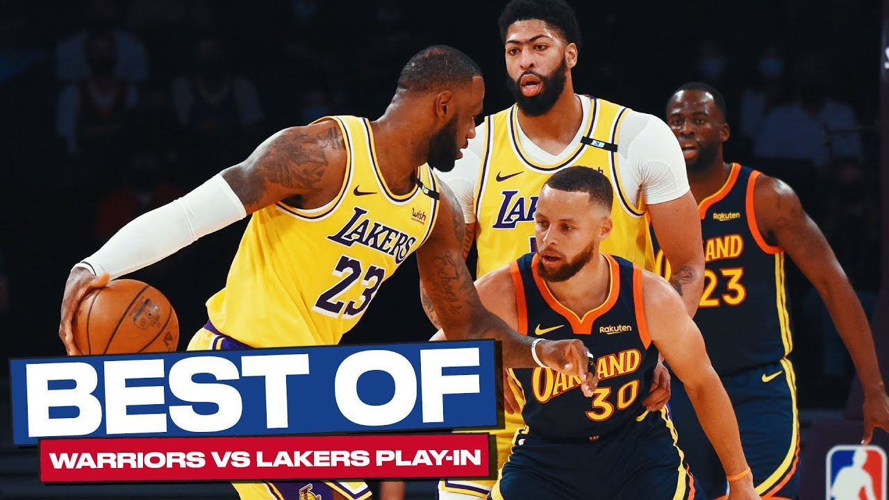 Download Best of Warriors & Lakers Play-in Game (2020-2021)! 🔥👀